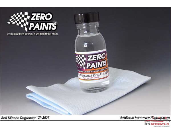 ZP3027 Anti-Silicone Degreaser / Panel wipe - 60ml Paint Material