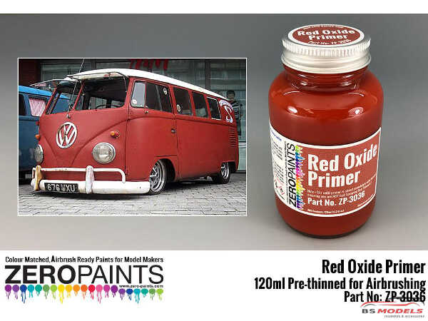 ZP3036 Red Oxide Primer 120 ml Paint Material