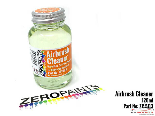 ZP5113 Airbrush Cleaner  120 ml Paint Material