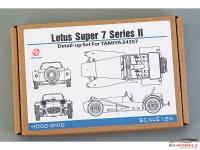 HD020410 Lotus Super 7 serie II detail Up set  FOR TAM 24357 Multimedia Accessoires