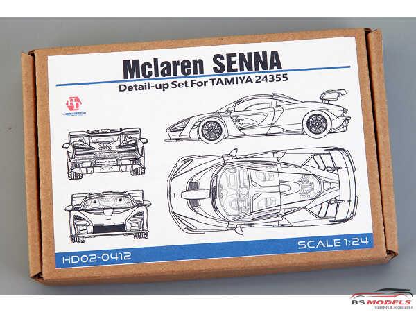 HD020412 Mclaren Senna detail up set FOR TAM 24355 Multimedia Accessoires