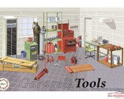 FUJ115054 Car accessoires - Tools and Toolboxes set Plastic Kit