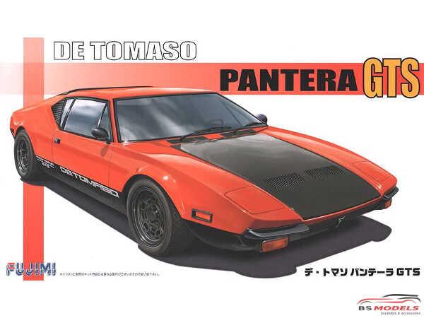FUJ125534 De Tomaso Pantera GTS Plastic Kit