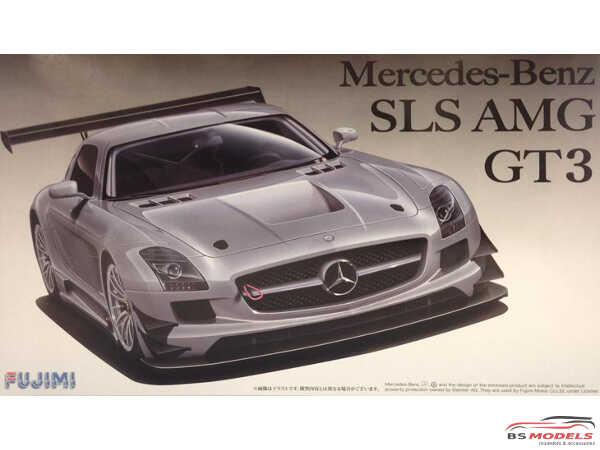 FUJ125695 Mercedes Benz SLS AMG GT3 Plastic Kit