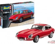 REV07668 Jaguar E-type (coupé) Plastic Kit