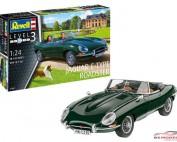 REV07687 Jaguar E-Type roadster Plastic Kit