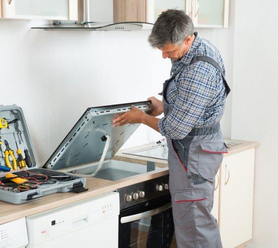 electric stove repair