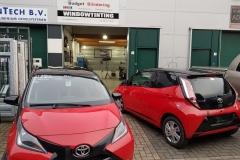 Biton wrappen en ramen blinderen Toyota