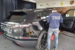 ramen blinderen Land Rover