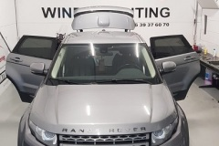 Ramen Blinderen Range Rover Evoque met Suntek HP15
