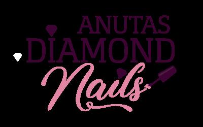 Anutas Diamond Nails logo