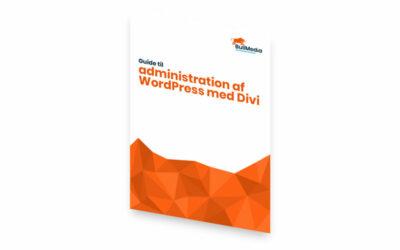 """Download """"Guide til administration af WordPress med Divi"""""""