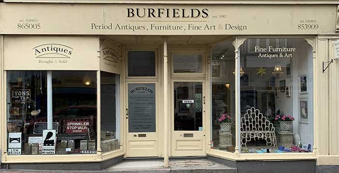 Burfields antiques art and design, Isle of Wight