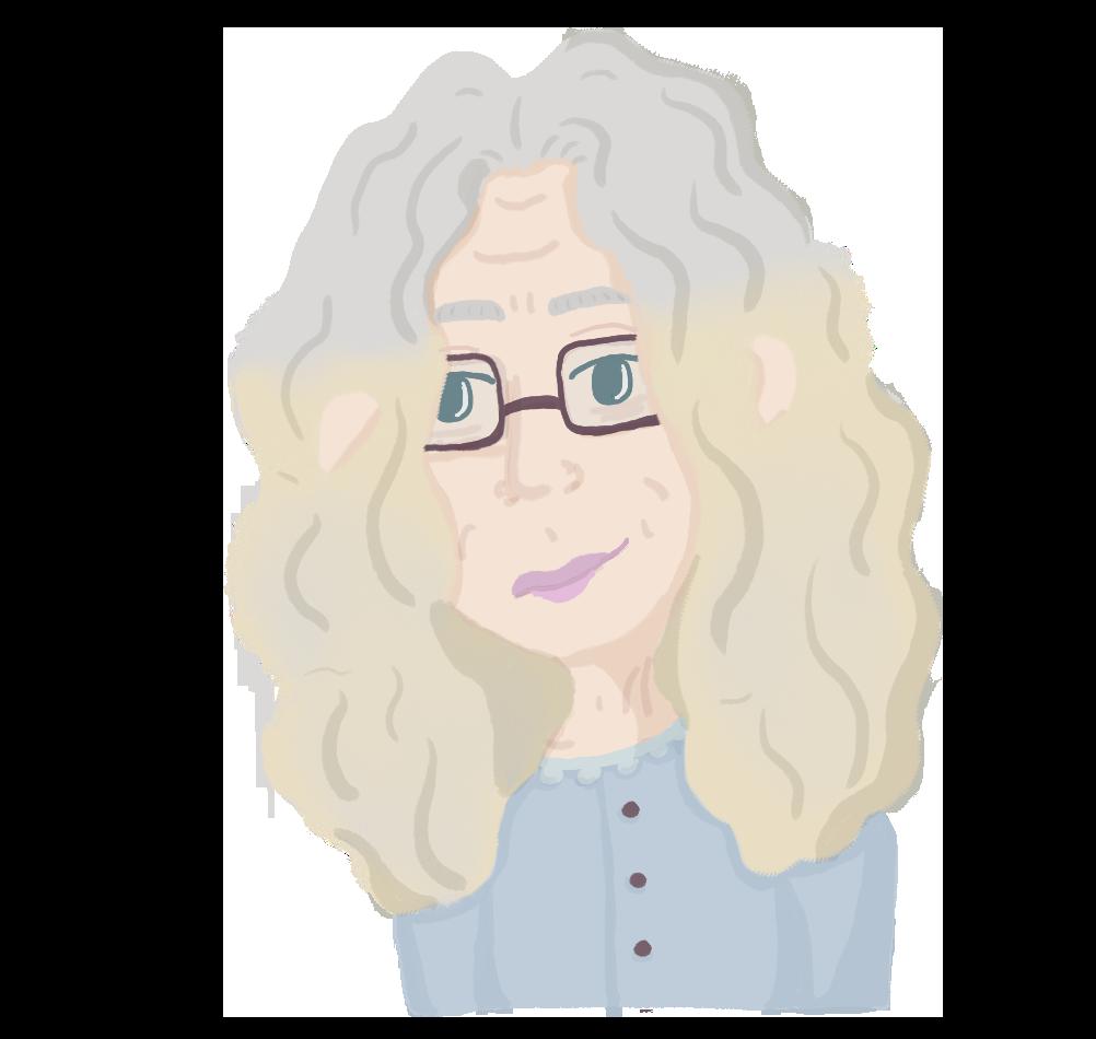 Rachel Levine Vector Portrait