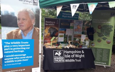 Hampshire and Isle of Wight Wildlife Trust.
