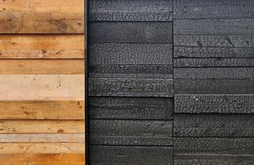バーントリサイクル木材リユースアップサイクル