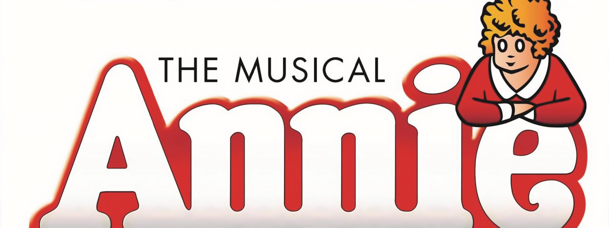 Annie The Musical - Banner