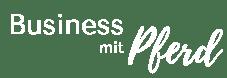 Business mit Pferd Logo
