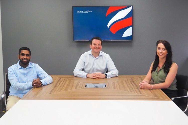 Sphere Solutions Appointments - akir Hussain, Bryn Jones, Charlotte Bugg