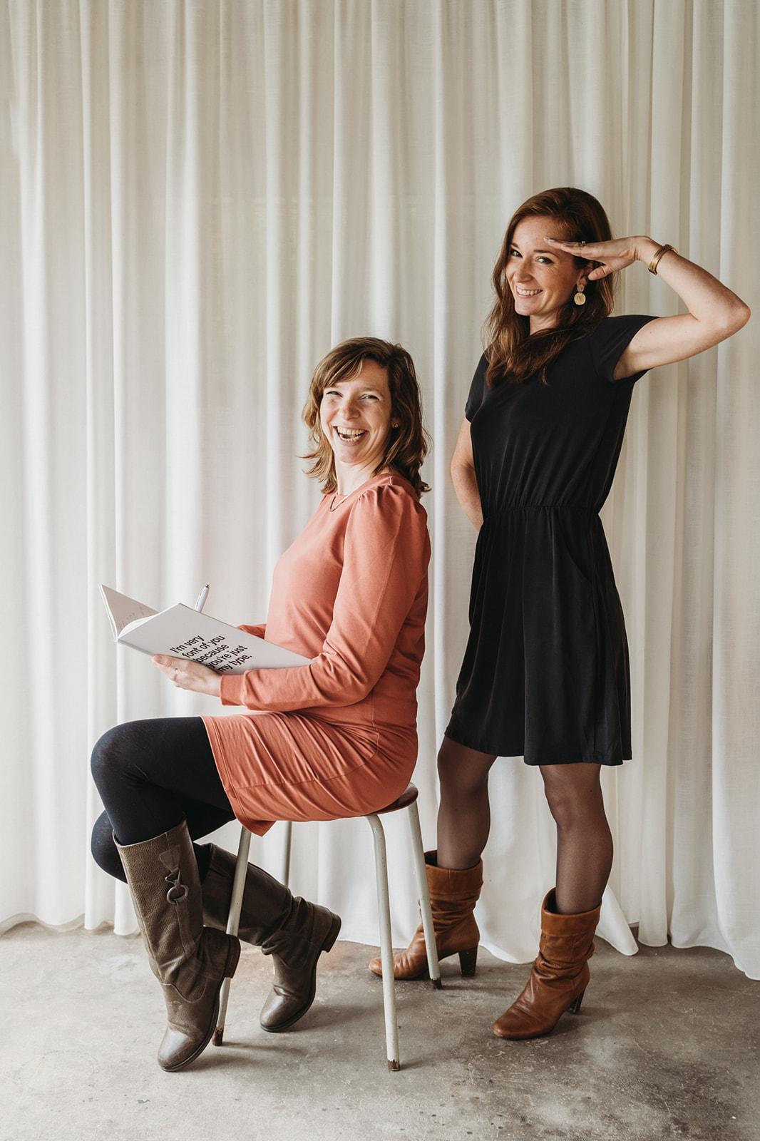 Marleen en Marlies, oprichters van Business Boosters by MM
