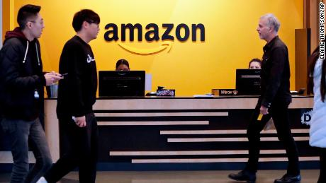 Amazon has its first $200 billion sales year, but growth is slowing