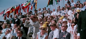 Nearly one million people gathered to watch Apollo 11's launch.