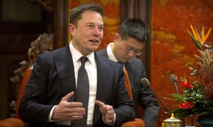 Elon Musk in Beijing this month to meet Chinese premier Li Keqiang.