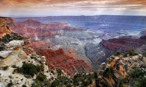A viewpoint on the North Rim Trail, Grand Canyon