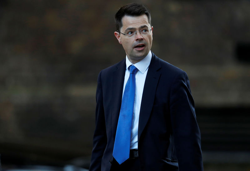 © Reuters. Britain's Secretary of State for Housing James Brokenshire arrives in Downing Street, London