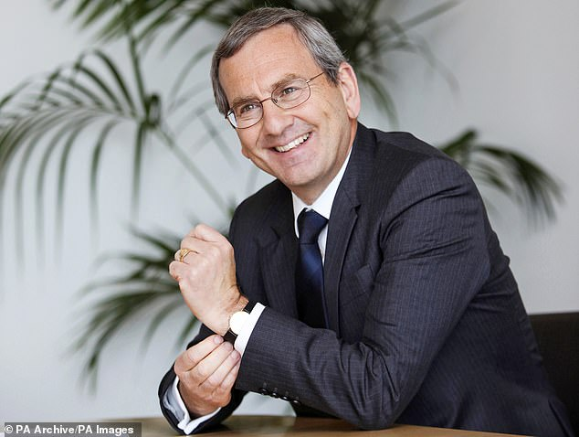Juggling act: City grandee David Tyler is the chairman of bothHammerson and Sainsbury's and also chairs insurance outfit Domestic & General