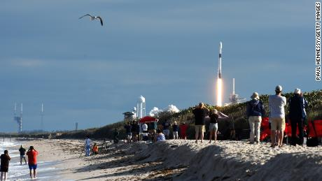 SpaceX launches routinely drawn crowds to local beaches and viewing sites.