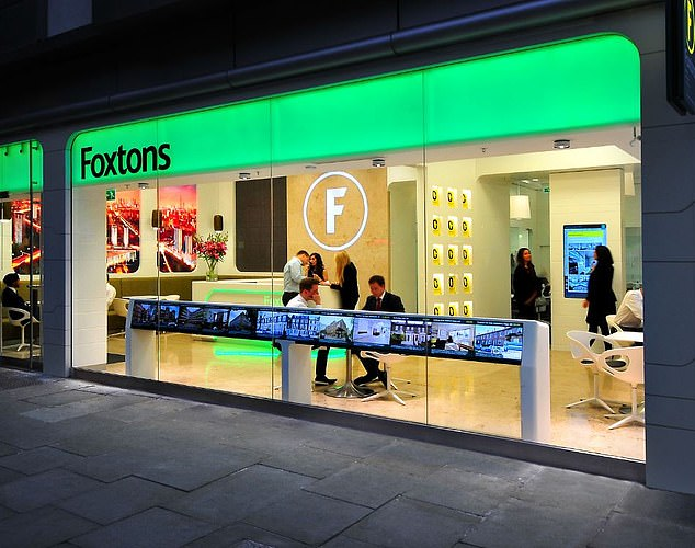 Reach: Foxtons said it was able to cover 85 per cent of London's housing market from 61 branches