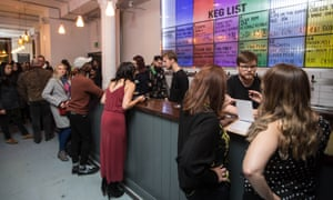 Busy bar area at Beatnikz Republic, Manchester