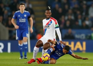 Youri Tielemans in action with Michy Batshuayi