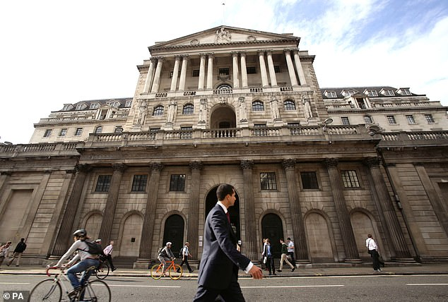In limbo: Uncertainty over our departure from the European Union is harming the economy, the Bank of England said, with businesses putting off investment