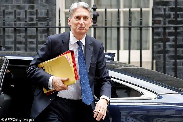 A a surge in tax receipts has given Chancellor Philip Hammond a war chest of more than £26bn which he can spend without breaking his fiscal targets