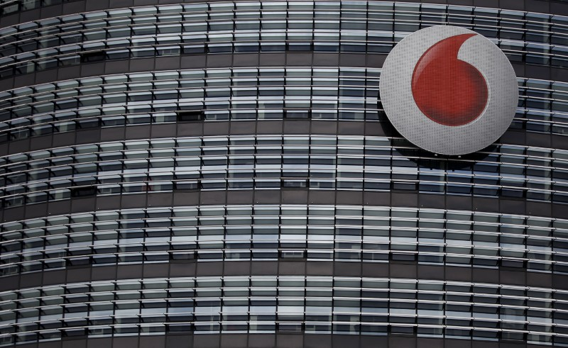 © Reuters. FILE PHOTO: The headquarters of Vodafone Germany are pictured in Duesseldorf