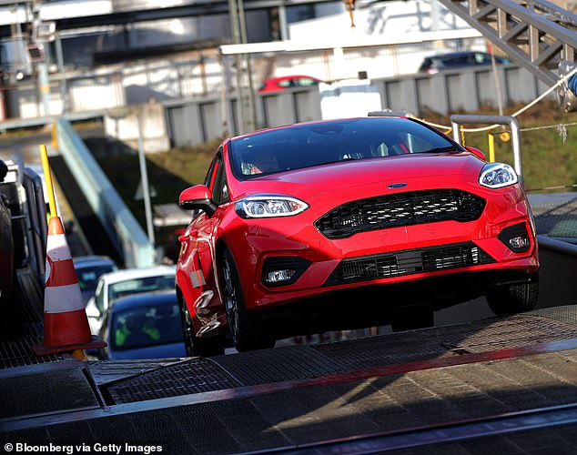 Popular: The Ford Fiesta was the most popular new car for buyers last month and in the last year