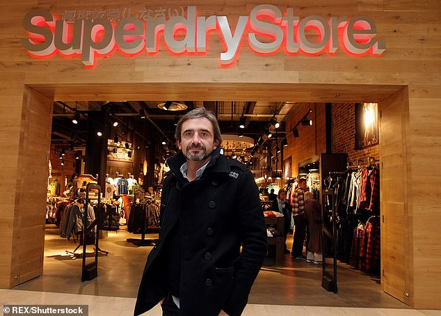 Back at the helm: Superdry co-founder Julian Dunkerton is back in charge at the fashion firm