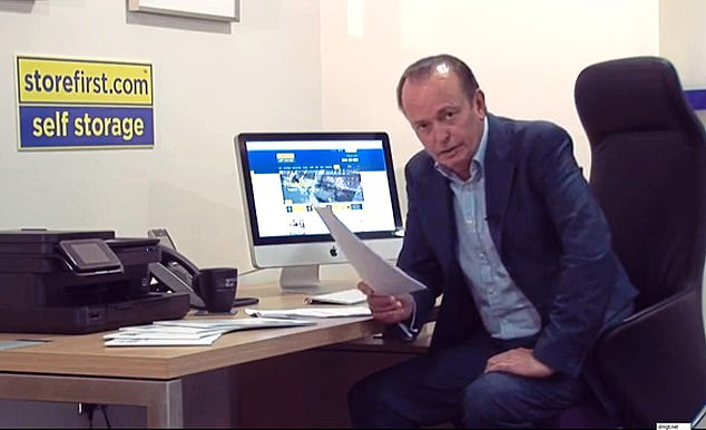 Warning:Motoring writer Quentin Willson fronted a video for the firm