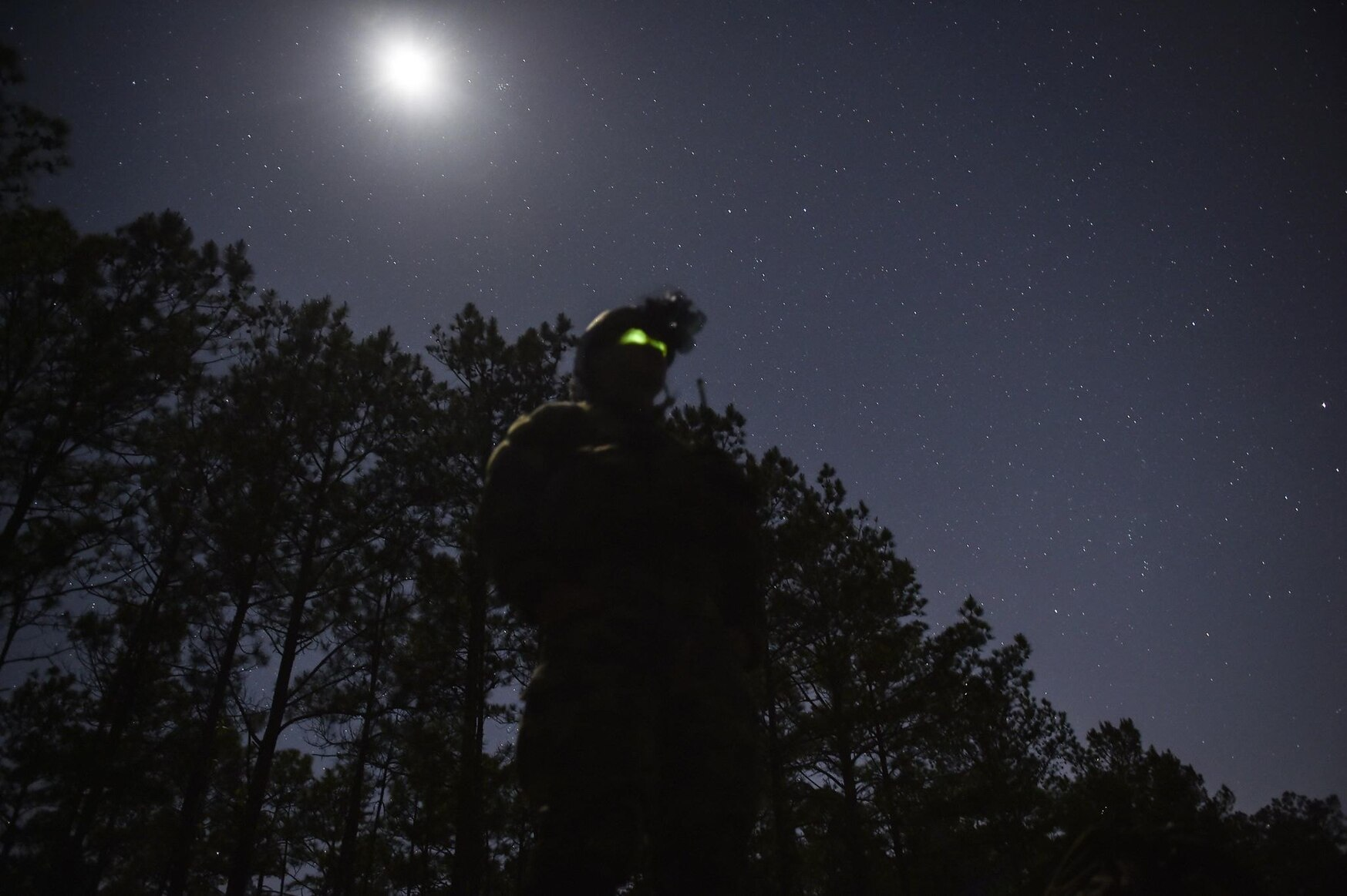 Night labs are currently only in use by Marine Corps aviation units, but ground combat elements within the Corps have expressed interest in acquiring the systems to refine night vision skills. (Lance Cpl. Rhita Daniel/Marine Corps)