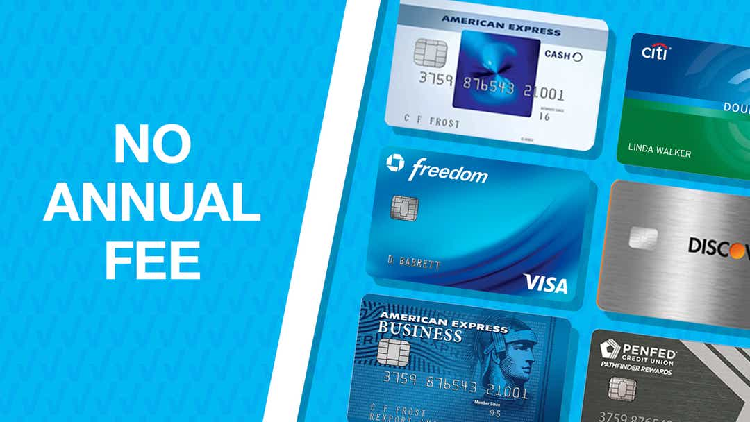 The best credit cards with no annual fee of 7 - Business Fast
