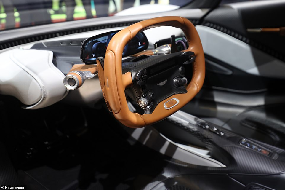 The AM-RB 003 - as it has been called until now - was first revealed at the 2019 Geneva Motor Show, where it won many admirers