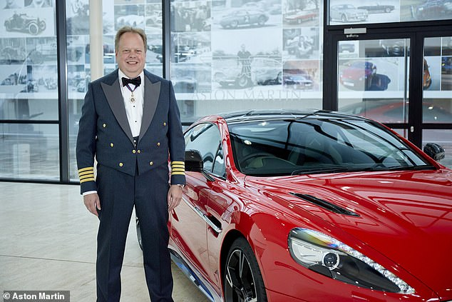 The boss of Aston Martin, Dr Andy Palmer, pictured above, made millions selling stock in the ailing car maker that would be worth just a fraction of that sum now