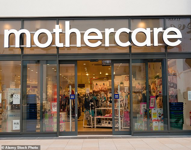 Dismal: Mothercaresaw its total UK sales plummet by 23.2 per cent in the first quarter