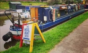 The Wool Boat. Colin and Carole Warring sell commercial and indie dyed yarn.