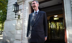 Jacob Rees-Mogg the morning after Boris Johnson requested the Queen suspend parliament for longer than the usual conference season.