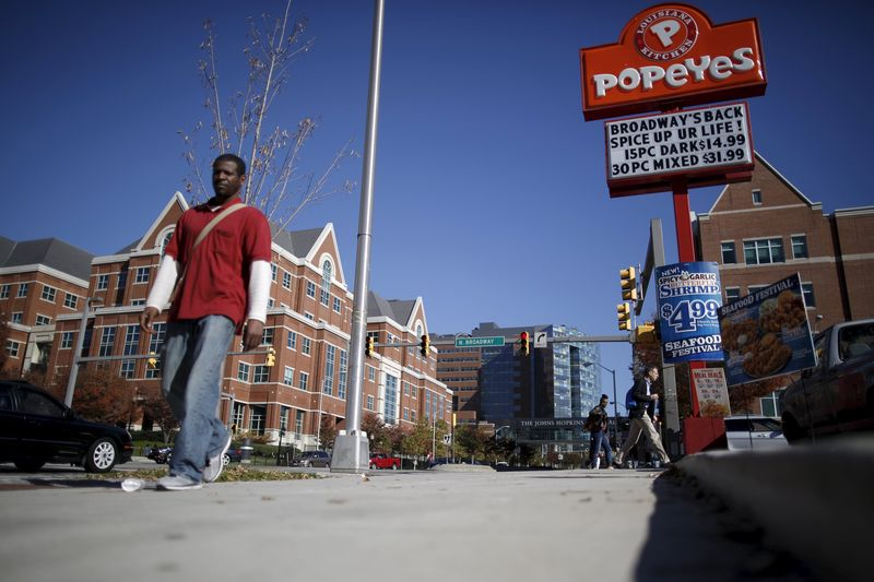© Reuters.  How Popeyes Ran Out of Chicken for Its Famous Sandwiches