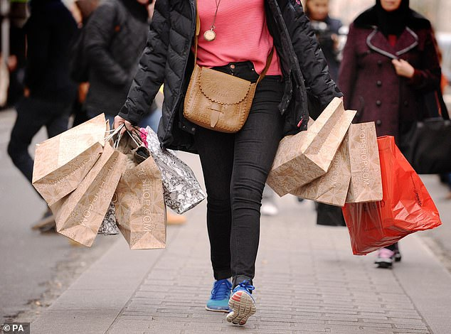 GfK found that shoppers showed less willingness to splash out 'big ticket' items last month