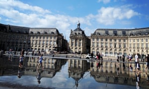 1. Water mirror in from of the Bourse, Bordeaux